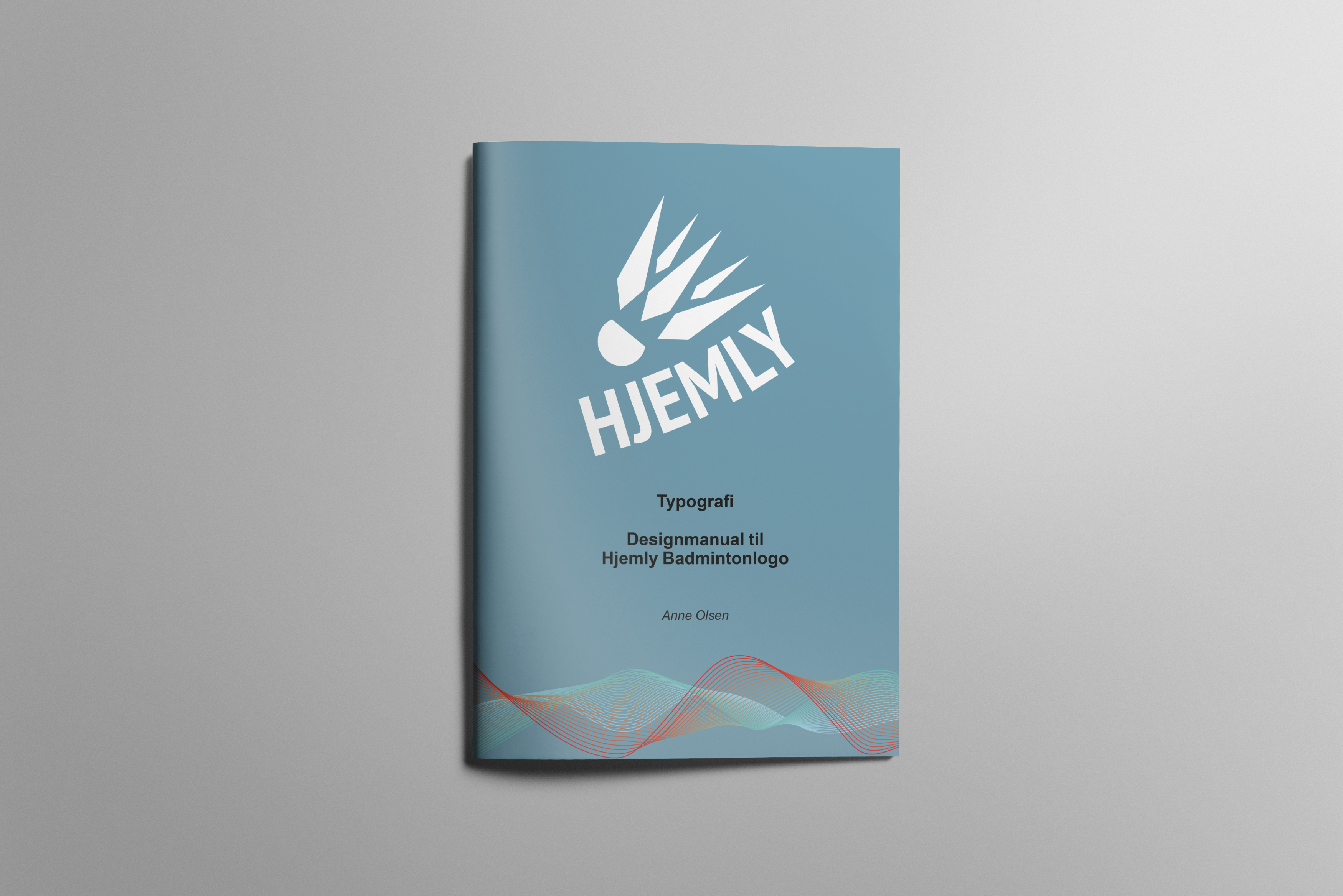 Logo designmanual til Hjemly logoet.