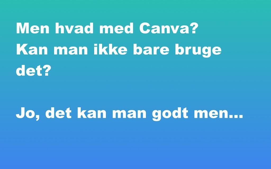Hvad meed Canva?